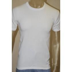 Camiseta felpa blanca